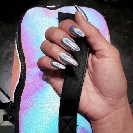 LoveNess Unicorn Nails Silver Fine