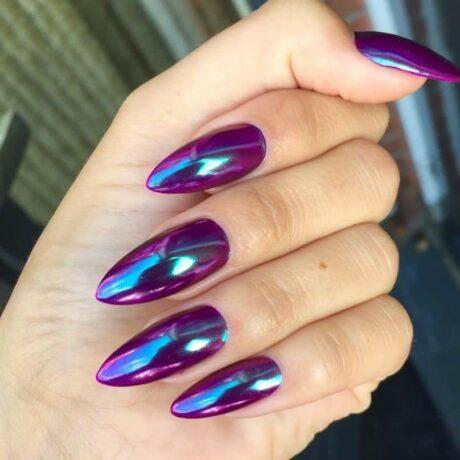 LN quartz violet blue