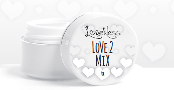 LoveNess Love 2 Mix Empty Jar