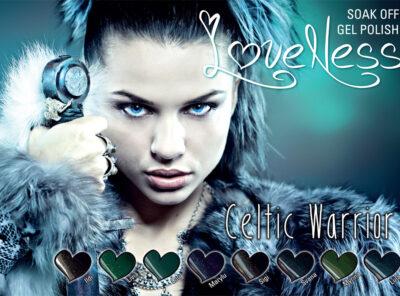 LoveNess Gel Polish Celtic Warrior Collection