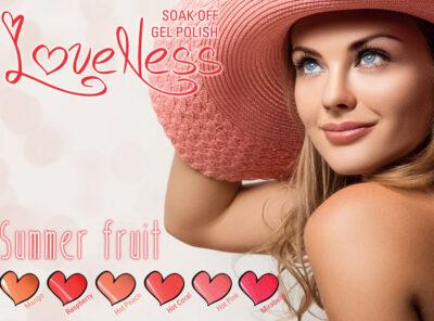 LoveNess Gel Polish Summer Fruit Collection