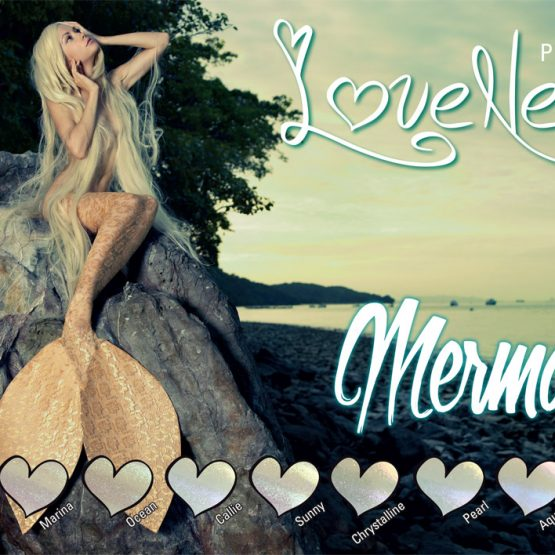 LoveNess Pigmenten Mermaid Collection