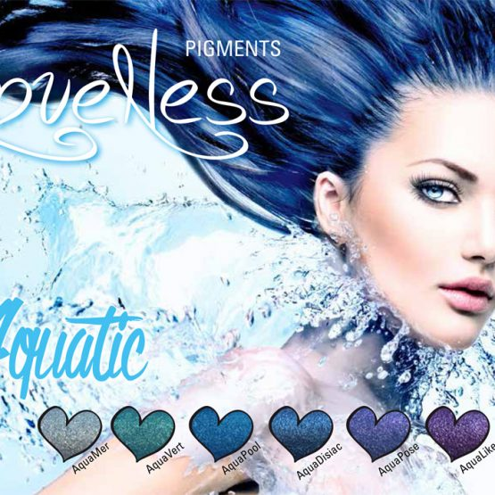 LoveNess Pigmenten Aquatic Collection