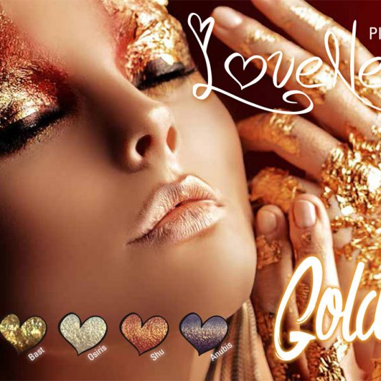 LoveNess Pigmenten Golden Collection
