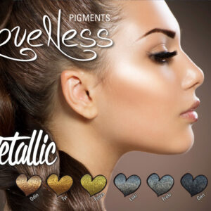 LoveNess Pigmenten Metallic Collection