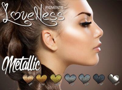 LoveNess Pigmenten Metallic Collection