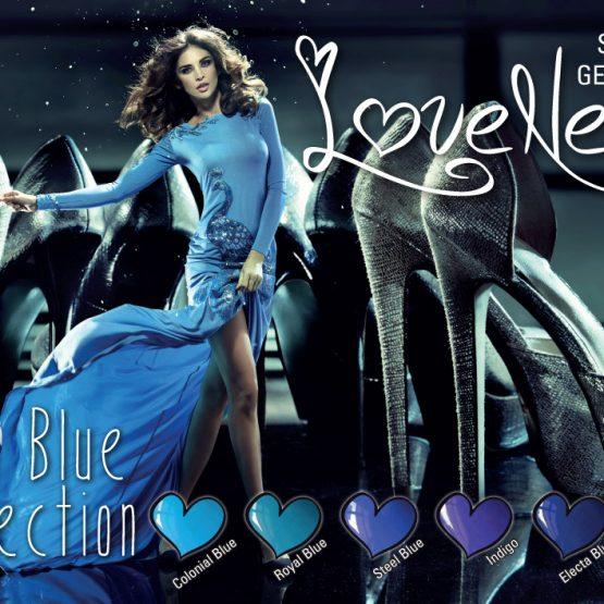 LoveNess Gel Polish Posh Blue Collection