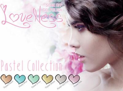 LoveNess Gelpolish Pastel Collection