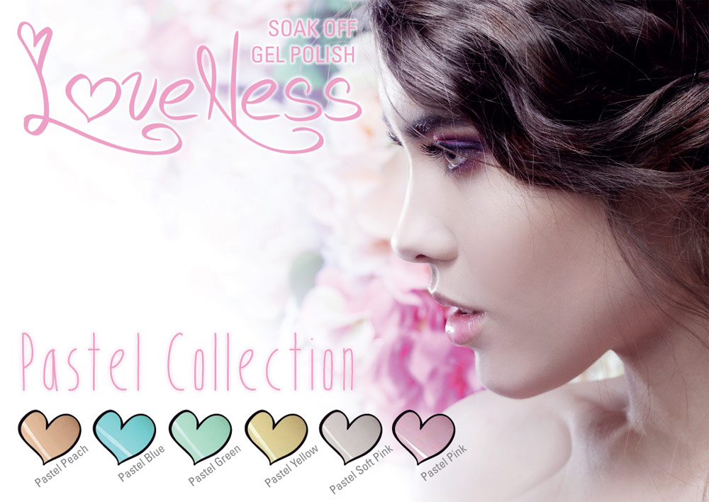 LoveNess Gelpolish Pastel Collection