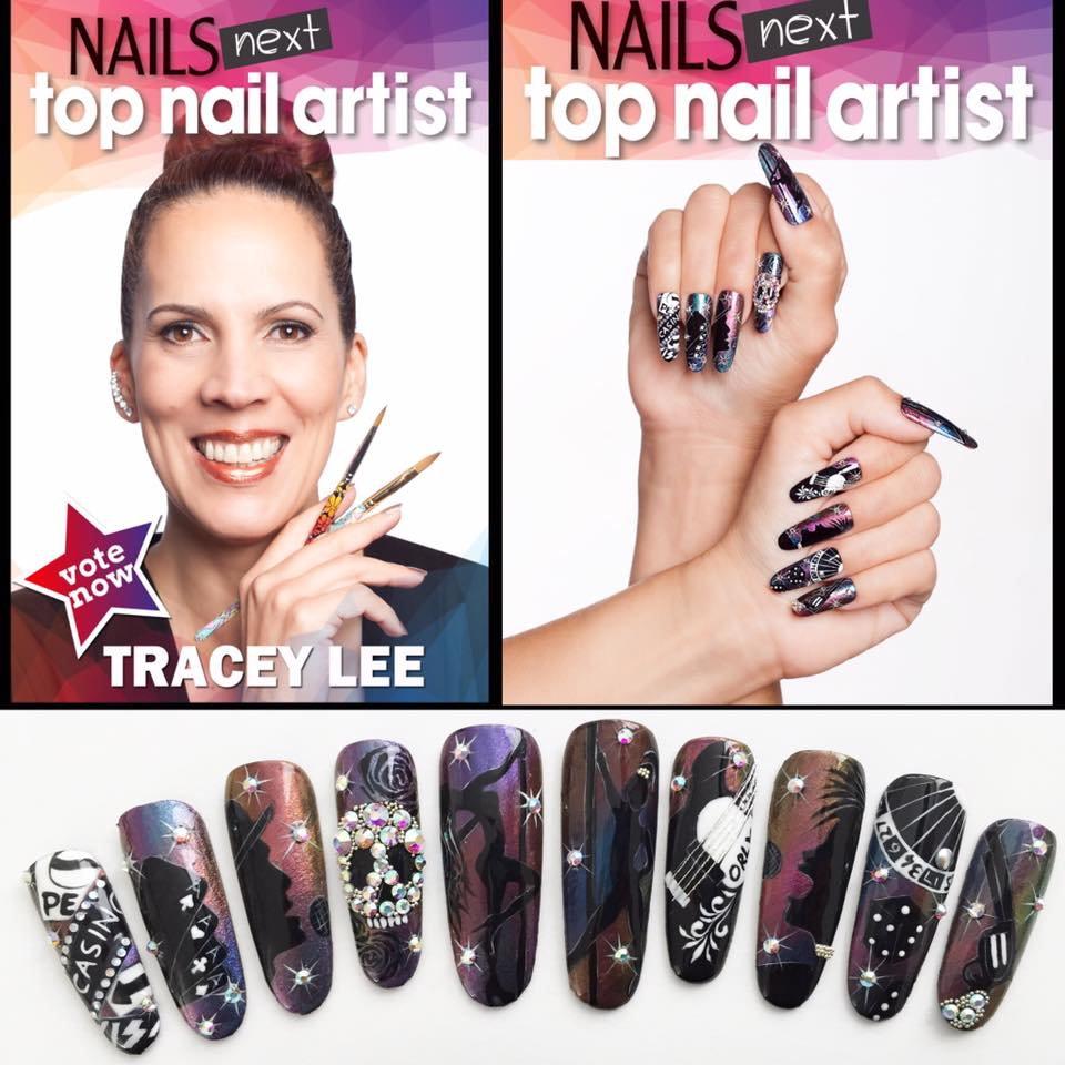 Training with Tracey Lee Salon Nail Shapes - Nagelbenodigdheden.nl