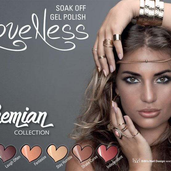 LoveNess Gelpolish Bohemian Collection 6 pcs