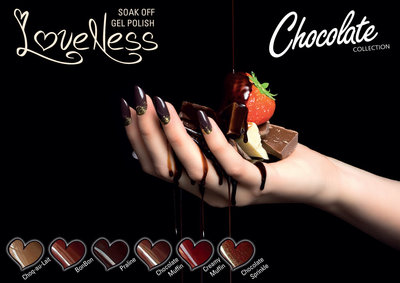 LoveNess Gelpolish Chocolate Collection