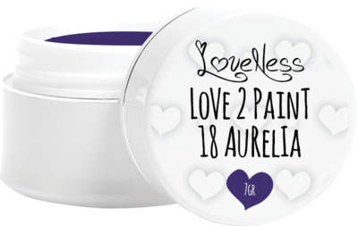 LoveNess Paint Gel Retro 18 Aurelia