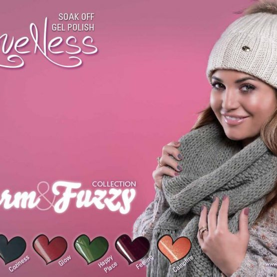 LoveNess Gelpolish Warm & Fuzzy Collection