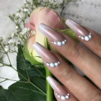 Coffin/Ballerina Nail Shape with Tracey Lee