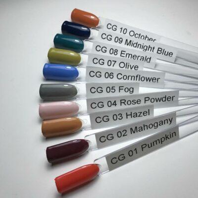 LoveNess Color Gel 1 tot en met 10 staal