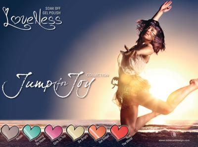 LoveNess Gelpolish Jump For Joy Collection