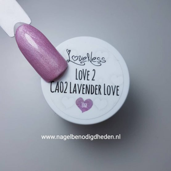 LoveNess Color Acryl 02 Lavender 10 gr.