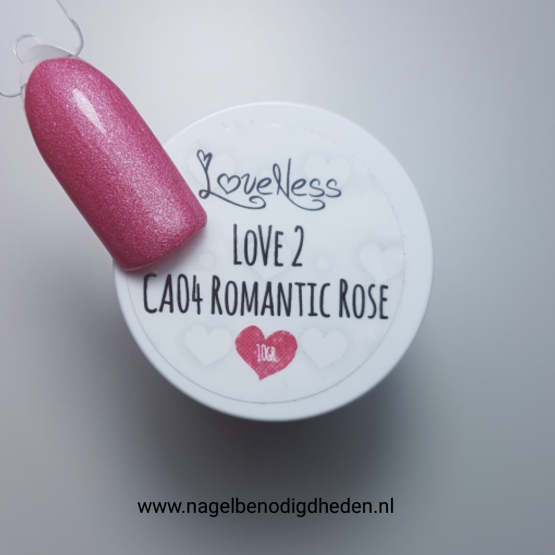 LoveNess Color Acryl 04 Romantic Rose 10 gr. site
