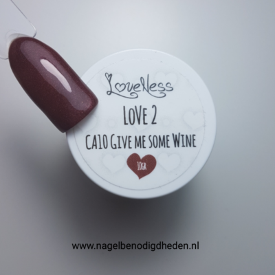 LoveNess Color Acryl 10 Give Me Some Wine 10 gr. site