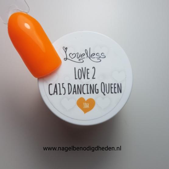 LoveNess Color Acryl 15 Dancing Queen 10 gr. site