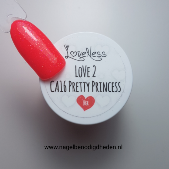 LoveNess Color Acryl 16 Pretty Princess 10 gr. site