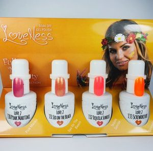 LoveNess Gelpolish Full Moon Party Collection 4 pcs