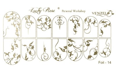 LoveNess Waterdecal Foil Gold 14
