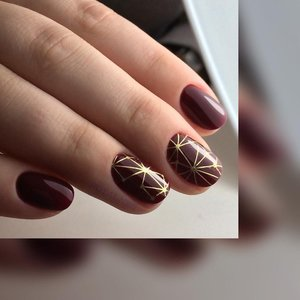 LoveNess Waterdecal Foil Gold 1