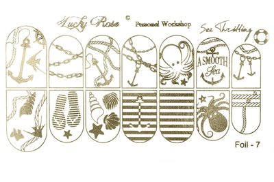 LoveNess Waterdecal Foil Gold 7