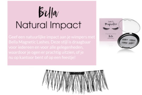 Magnetic EyeLashes Bella (1 magneet)