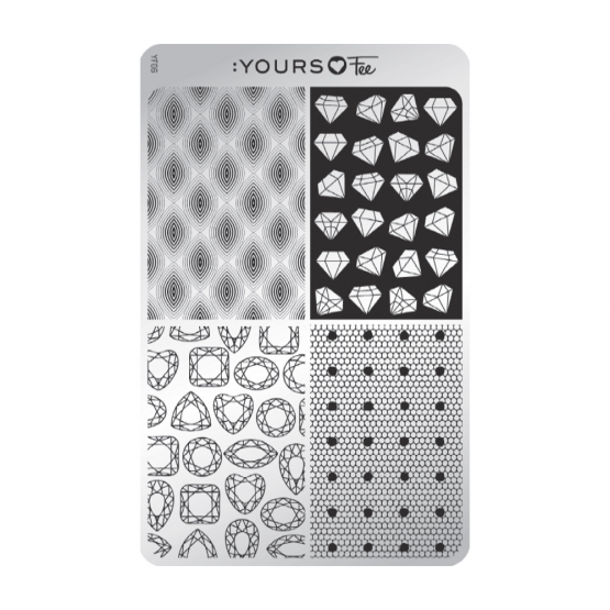 YOURS Loves Fee YLF06 Dots & Diamonds