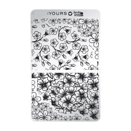 YOURS Loves Sascha YLS14 Flower Power