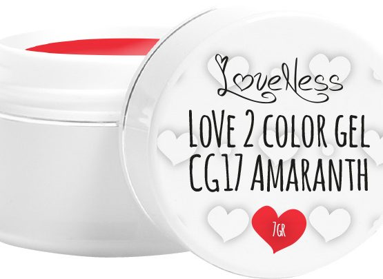 LoveNess Color Gel CG17 Amaranth 5ml.