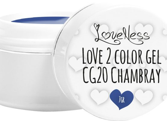 LoveNess Color Gel CG20 Chambray 5ml.