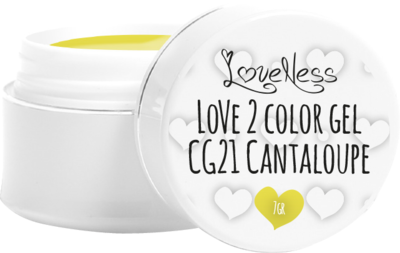 LoveNess Color Gel CG21 Cantaloupe 5ml.