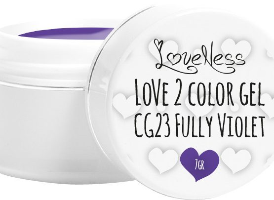 LoveNess Color Gel CG23 Fully Violet 5ml.