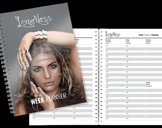 LoveNess Week Planner