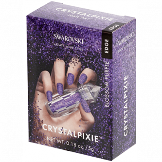 Swarovski Crystal Pixie Edge Blossom Purple 5gr.
