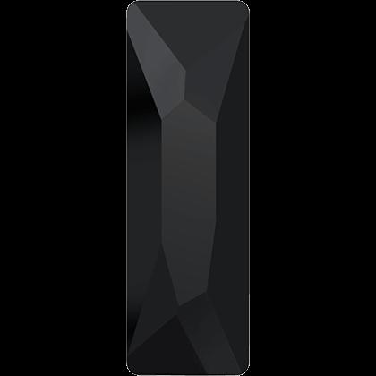Swarovski Flat Backs Cosmic Baguette Jet Crystal 8x2,6mm.