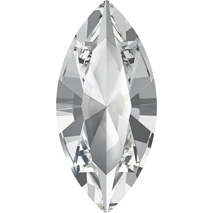 Swarovski Flat Backs Navette Crystal 8x4,8mm.