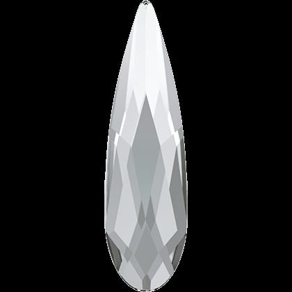 Swarovski Flat Backs Raindrops Crystal 6x1,7mm.