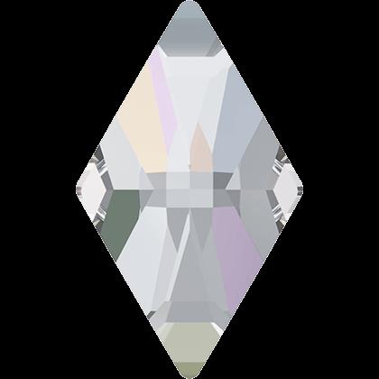 Swarovski Flat Backs Rhombus Crystal AB 8mm.