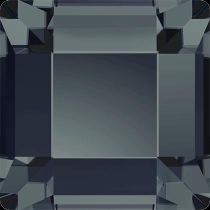 Swarovski Flat Backs Square Graphite 4mm.