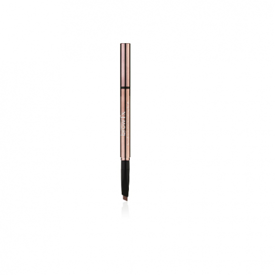 Lash FX Brow Pencil & Grooming Brush Warm Dark Brown