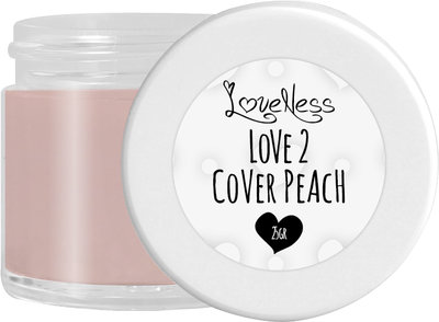 LoveNess Acrylic Powder Cover Peach