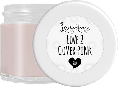 LoveNess Acrylic Powder Cover Pink