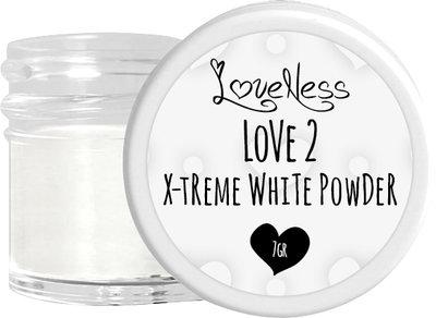 LoveNess Acrylic Powder X-treme White