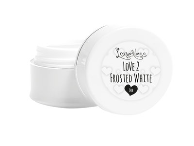 LoveNess Builder Gel Frosted White