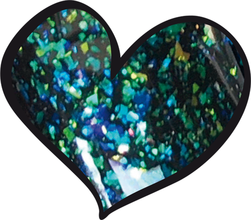 LoveNess Gelpolish SEM013 Galexia 7ml swatch